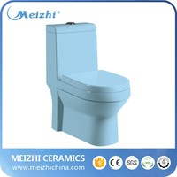New High Quality Sanitary Ware blue Japanese Best Toilet Price