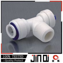 male Plastic Quick Connector of Union Tee Adapter Connector
