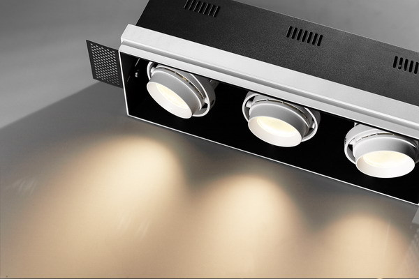 7W 50W adjustable led grille lamp