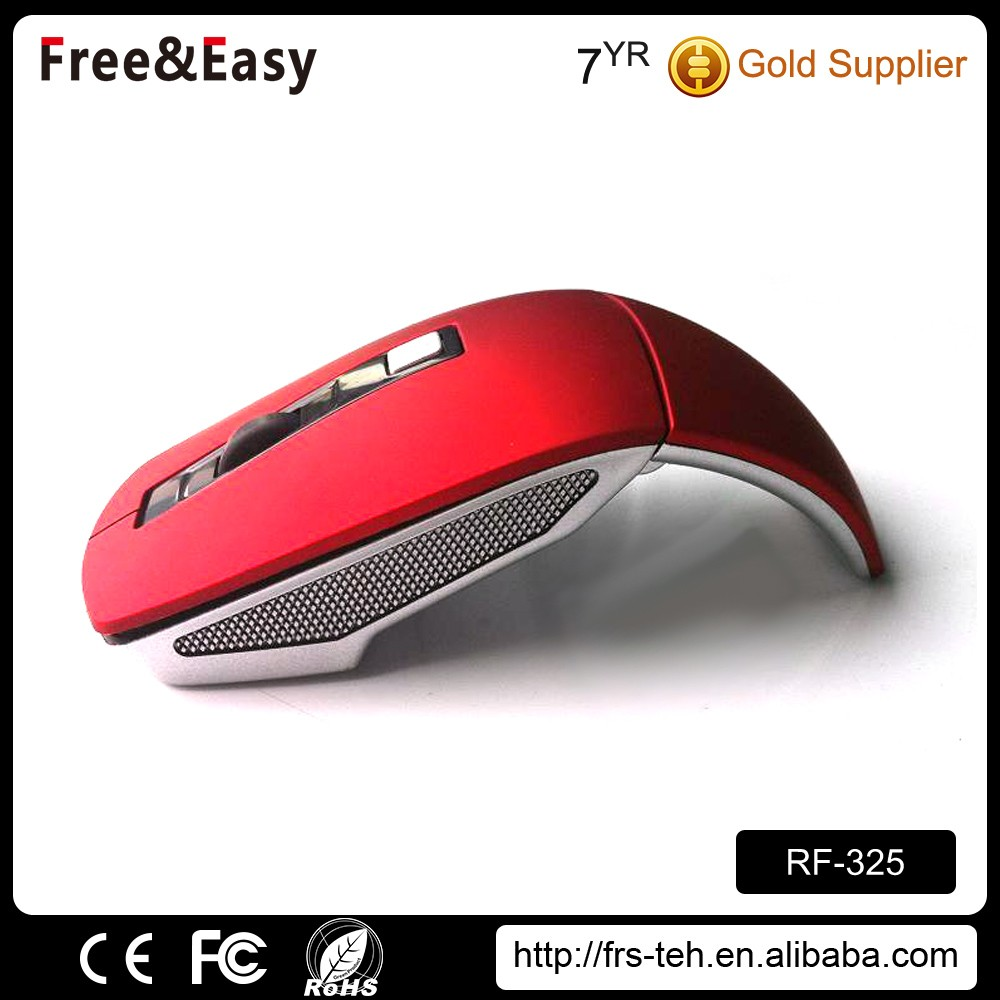 Custom portable laptop foldable Wireless Mouse