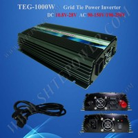 1kw On Grid Tie Solar Panel Inverter DC10.5-28V Input Micro Inverter AC 110V 120V 220V 230V 240V Inverter