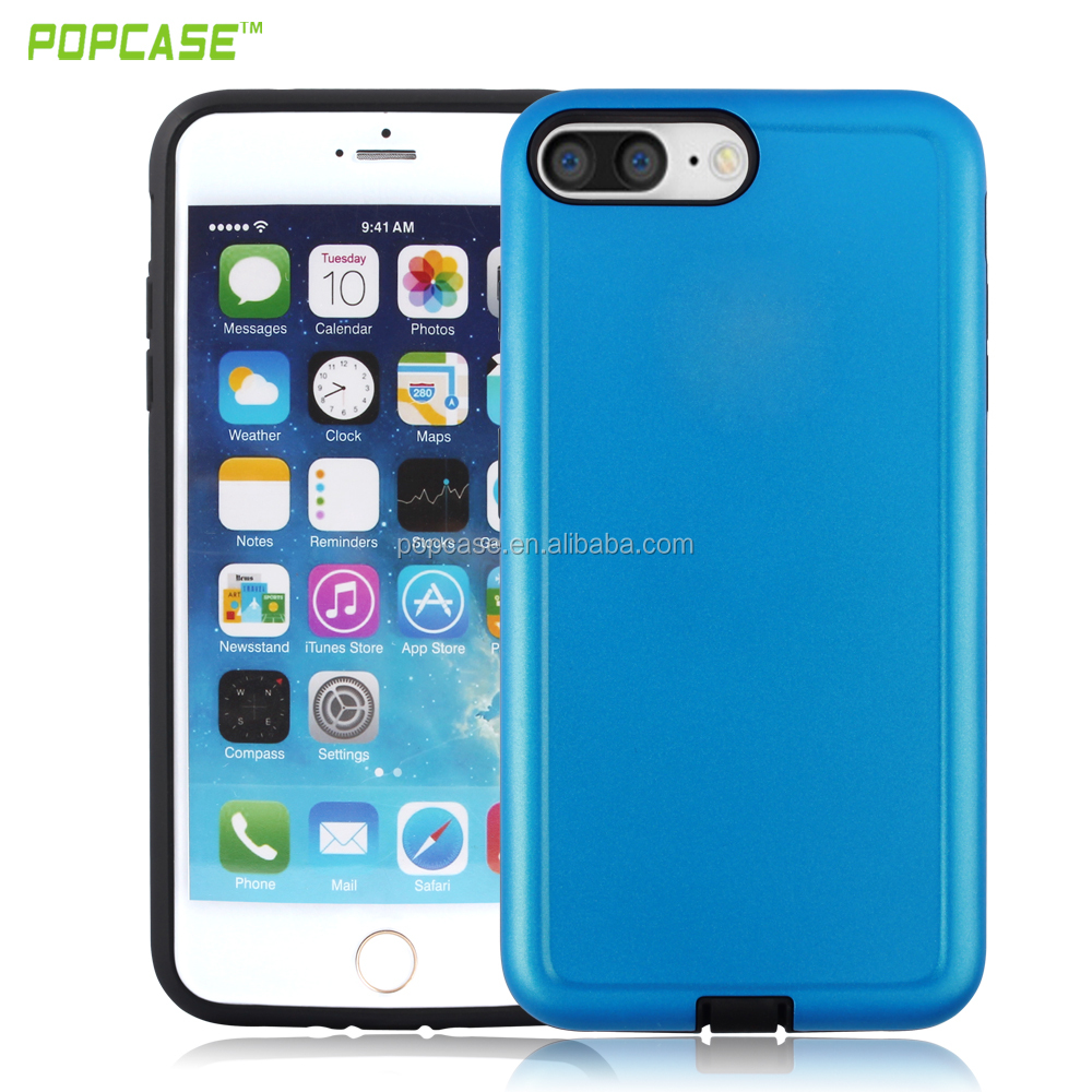 Universal PC+TPU bumper case for mobile phones for iphone 7 plus