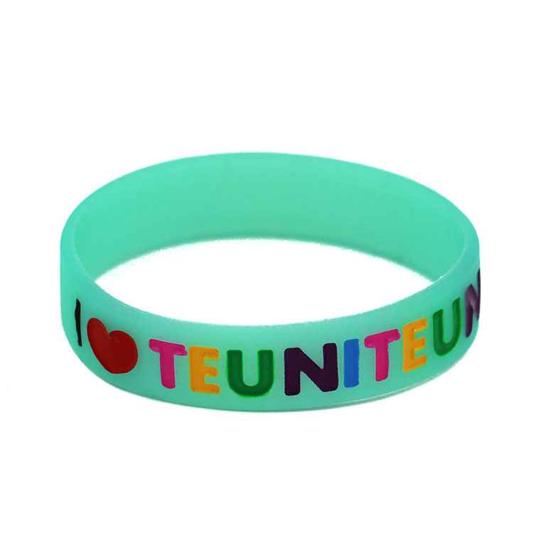 promotion gifts cheap rubber bracelet silicone armband for advertising