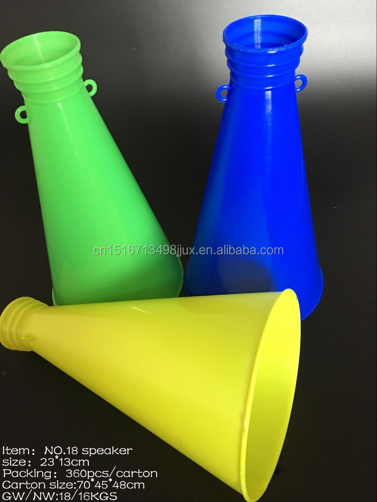 promotional plastic football air horn for fans