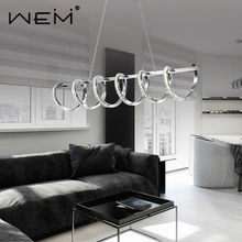 decorative aluminum chandeliers lighting K9 clear crystal modern design 28w led crystal pendant light