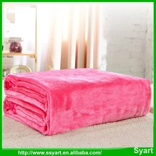 high quality luxury coral fleece flannel blanket pure color wholesale bulk,cheap price ,fast shipping