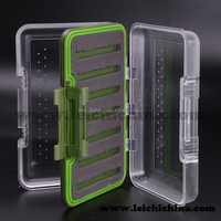 Waterproof fishing box plastic double tackle box
