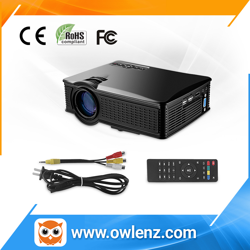New hot sale SD50 Plus 1500 lumens home theater projector LCD proyector Multimedia mini LED projector