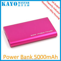 2015 new products Emergency universal portable powerbank