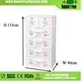 5 Layers 2 Locks Cartoon Custom Made Brand HQ Kids Room Airtight Locking Clothing Cabinets