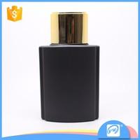 A1630-100ML gold uv cap black color spray pump perfume bottle factory