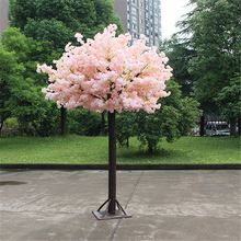 TOP sale 300cm high 70 branches design customized artificial wedding pink blossom tree without leaves