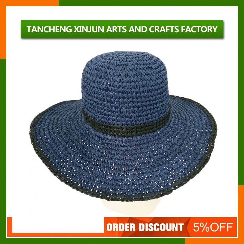 2016 Most Popular Creative Ladies Foldable Beach Straw Hat