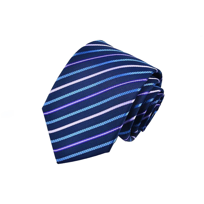 China factory directly sell gentleman knitted adjustable striped neck tie wholesale