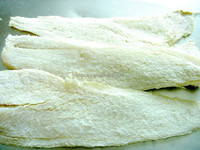 Frozen dried salted fish fillet COD fish