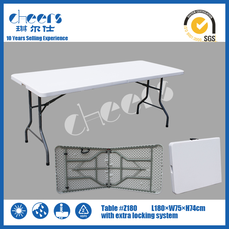 Portable outdoor lifetime tables and durable table wholesale price