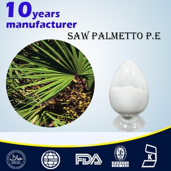 Solvent Extraction Type Saw Palmetto Fruit Extract Fatty Acids 25% 45%