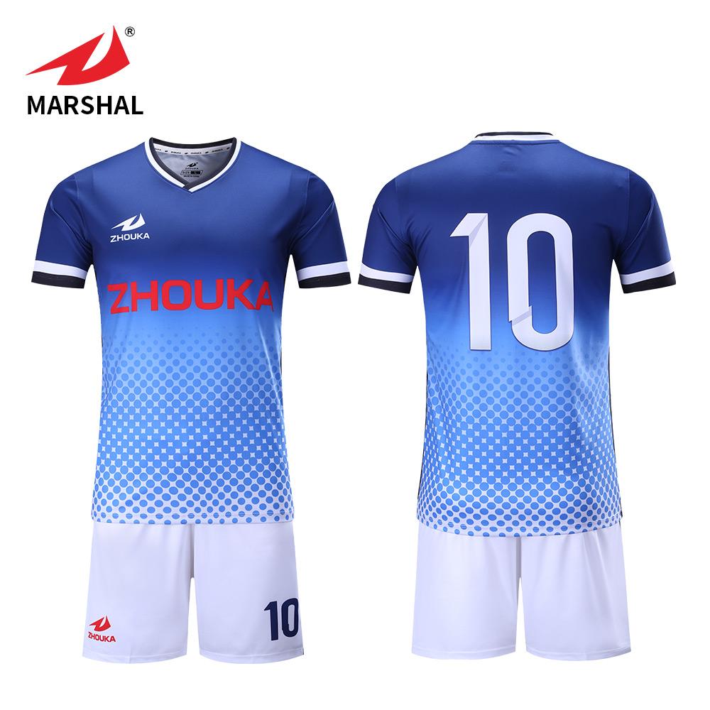 048de34b3 China cheap custom sublimation dri fit soccer team kits football jersey  soccer football shirt uniform football kit sports jersey