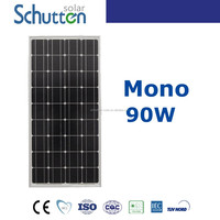 Mono solar cells 125*125 solar panel 90w with high requirement