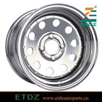 ETDZTR-24 16x8 ET -22mm +24mm Suv Trailer Steel Wheel