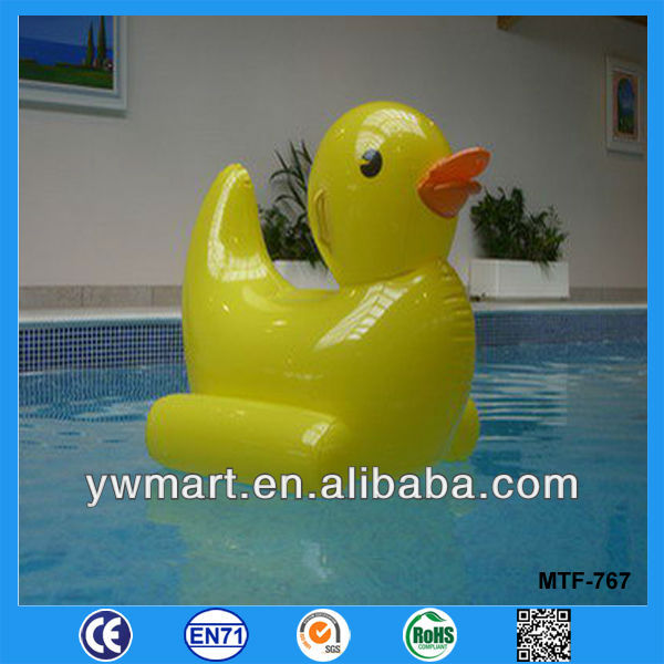 Giant water inflatable duck, water floating inflatable duck