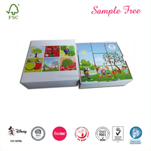 6 Photo Educational Toy Kids Puzzle Cubes