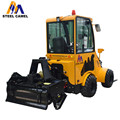 3-point rotary tiller on 30hp articulated loader