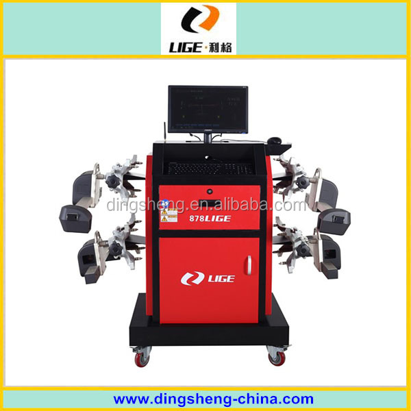 Robot CCD Car wheel alignment for vehicle workshop