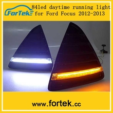 2014 New arrival,OEM 84 LED drl/Daytime Running Light with auto turning switch usd cars germany for ford focus 2012-2013
