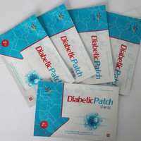 OEM factory herbal detox diabetes patch hypoglycemia patch health care products