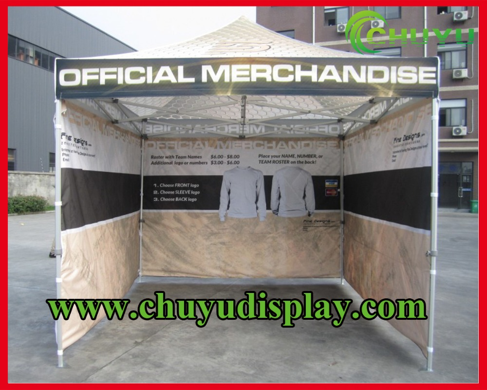 aluminium folding tent advertising cusotm tent trade show tent