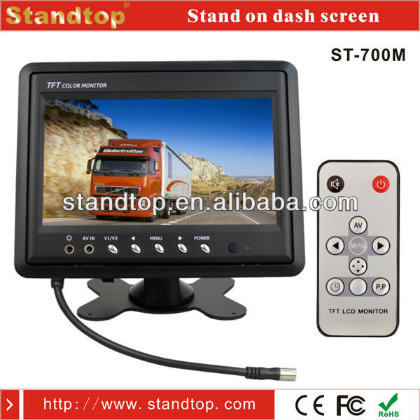 7 inch pillow tft hdmi LCD car monitor
