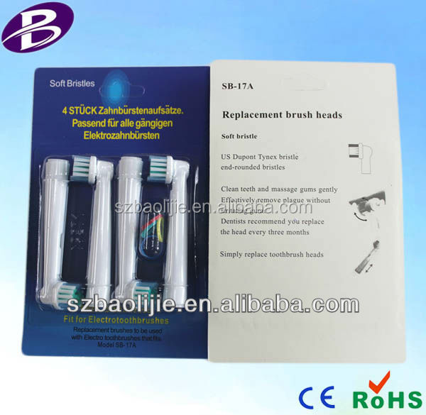 BAOLIJIE Manufacturer Hot Selling High Quality replaceable head toothbrush for Oral Brand with round head rotation