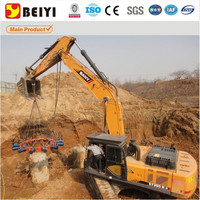 BEIYI concrete hydraulic pile head breaker,pile cutter, pile cutting machine
