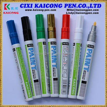 KAICONG Aluminum Barrel Valve Action Paint marker &OIL-BASED Acrylic Paint marker