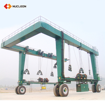 200 ton hydraulic electric hoist boat davit gantry
