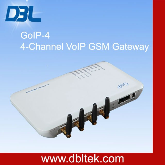 4 Port GSM VoIP Gateway Free Unlimited VoIP Calls