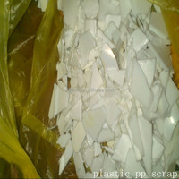 Factory price washed clear regrind recycling flakes plastic pp scrap