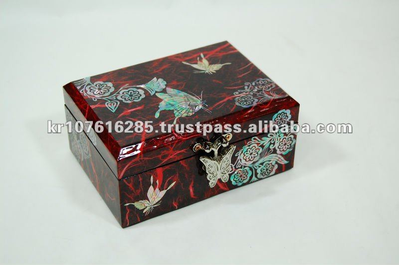 Korea Traditional Paper Turtle Jewelry Box