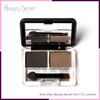 Wholesale Long-lasting Eyebrow 2 Colors Private Label Eyebrow Powder Palette