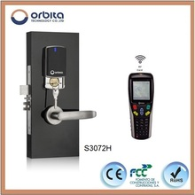 orbita New arrived 13.56MHz swipe RF card commercial sliding door lock