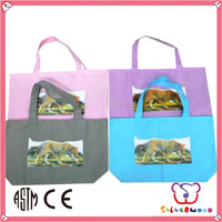 ICTI Factory best selling recycled custom print non woven tote bags