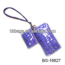 2012 Fashion newest pvc mobilephone purse