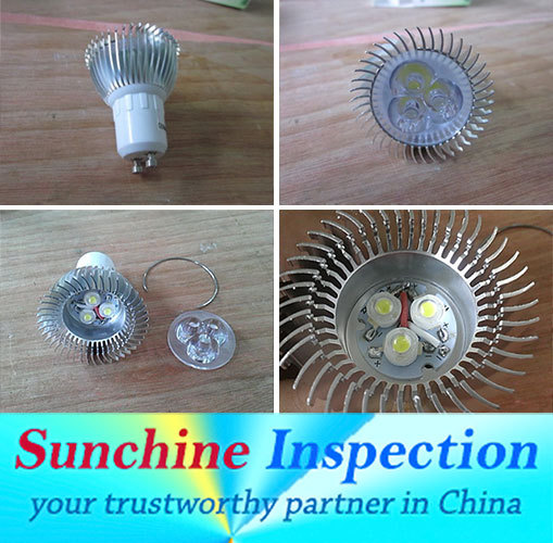LED Bulb Pre-Shipment Inspection Service in China / Inspection 13 years of LED QC History