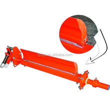 conveyor roller head polyurethane belt cleaner