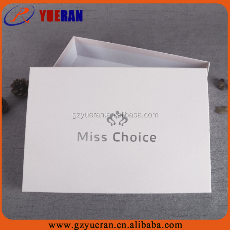 Custom cardboard paper hair extension packaging box, packaging box for hair extension