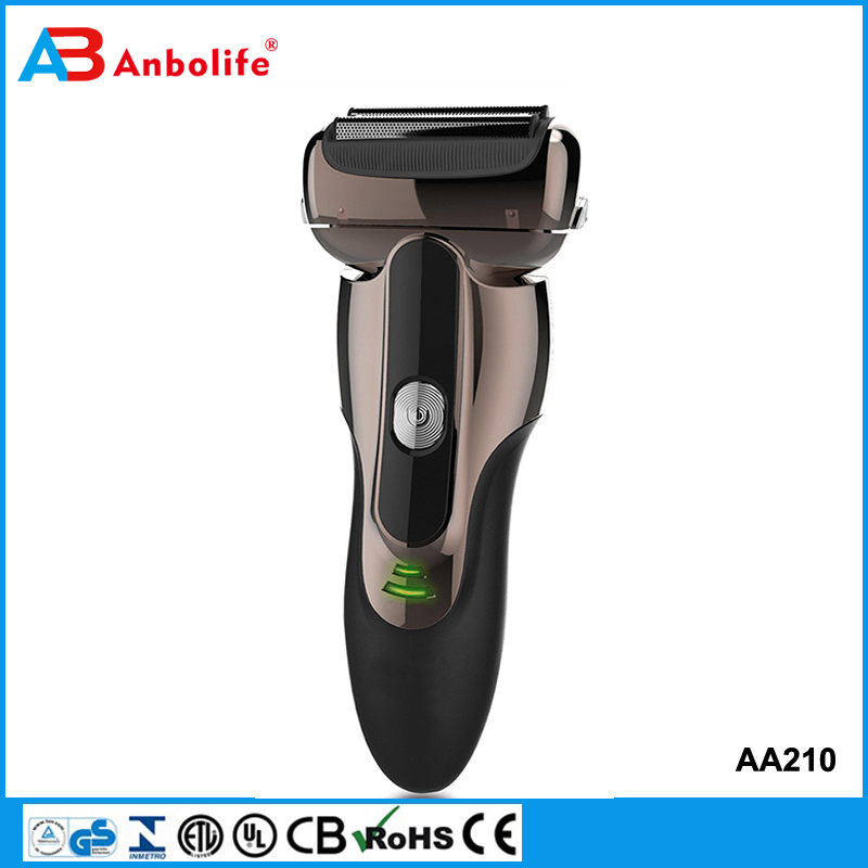 Anbolife razor back hair shaver 2016 the best price mobile phone rechargeable electric shaver with cleaning brush