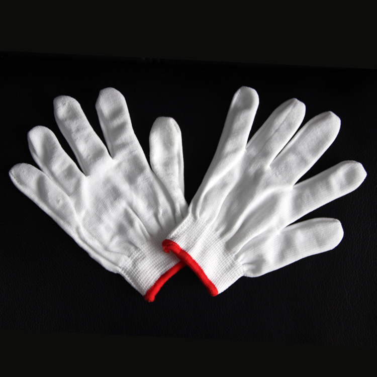 White cotton comfortable elastic glove With Great Low Price