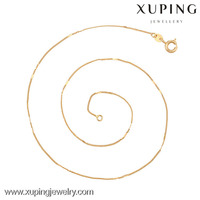 42638(half dozen)-Xuping High Quality Jewelry Long Chain Necklace