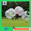 Self-designed new style straps and handles inflatable zorb ball, soccer bubble ball suit for sale